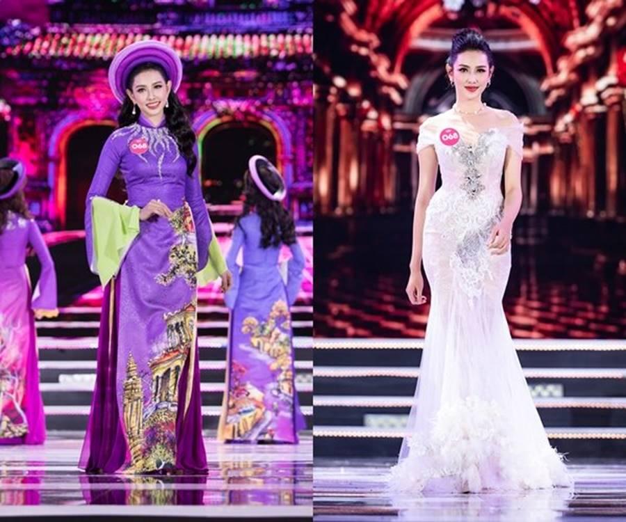 Vẻ đẹp nóng bỏng của Top 5 Hoa hậu Việt Nam 2018-10