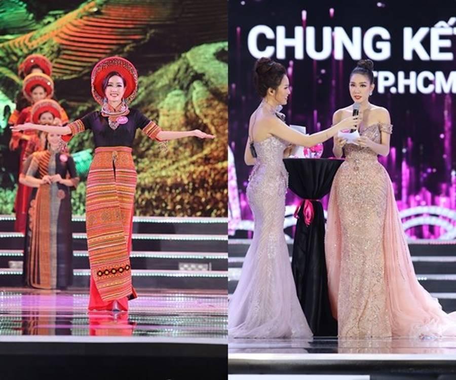 Vẻ đẹp nóng bỏng của Top 5 Hoa hậu Việt Nam 2018-8
