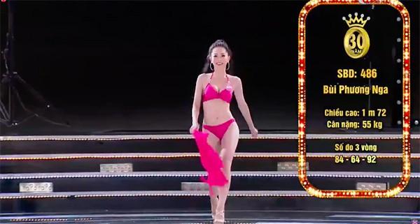 Sạn bất ngờ trong phần thi bikini của chung kết Hoa hậu Việt Nam 2018-4
