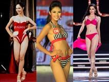 Chung kết Hoa hậu Việt Nam 2018 Lịch sử áo tắm của các kỳ HHVN: từ một mảnh sang hai mảnh, ngày càng