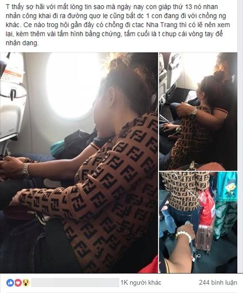 Đi máy bay vô tình phát hiện vụ ngoại tình chỉ bằng 1 câu nói, nữ hành khách chia sẻ để mẹ nào nhận ra chồng thì đem về ngay-1