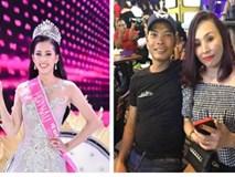 Bố mẹ tân Hoa hậu Tiểu Vy gây