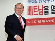 HLV Park Hang Seo tuyên bố quyết tâm đánh bại thầy Hiddink nếu đối đầu Trung Quốc