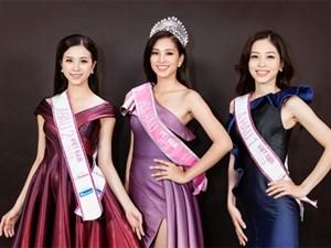 Ngắm cận vẻ đẹp của Top 3 Hoa hậu Việt Nam 2018: Mỹ nhân 2000 được khen sắc sảo, 2 nàng Á