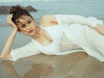 'Gái 1 con' Trương Quỳnh Anh đầy ướt át khi diện bikini bốc lửa