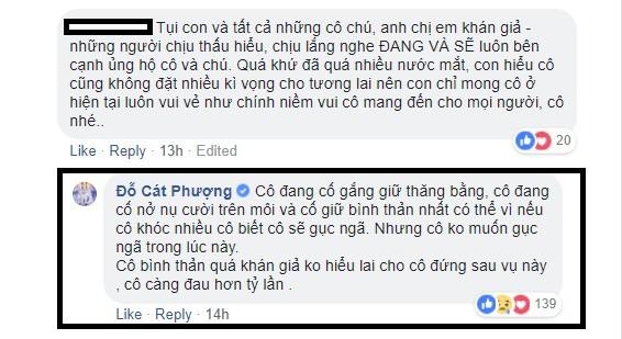 Sau nhiều lần cố tỏ ra bình thản trước ồn ào của Kiều Minh Tuấn, Cát Phượng mới thú nhận đang cố gắng để không gục ngã-2