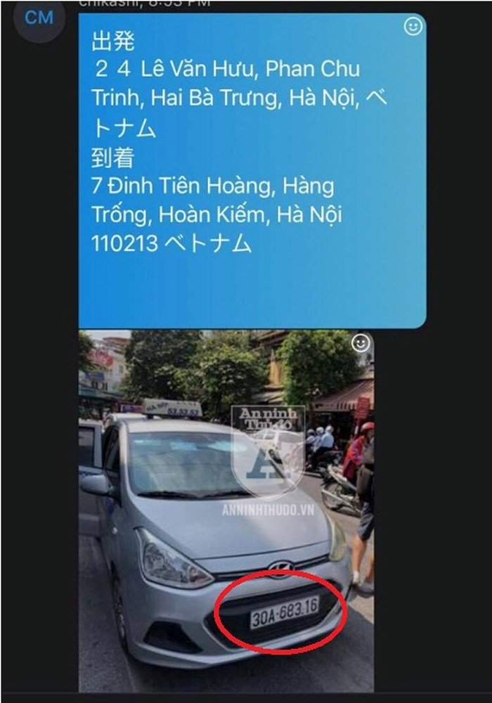 Đi 2km, vị khách Nhật Bản bị taxi dù chém 100.000 đồng/km-1