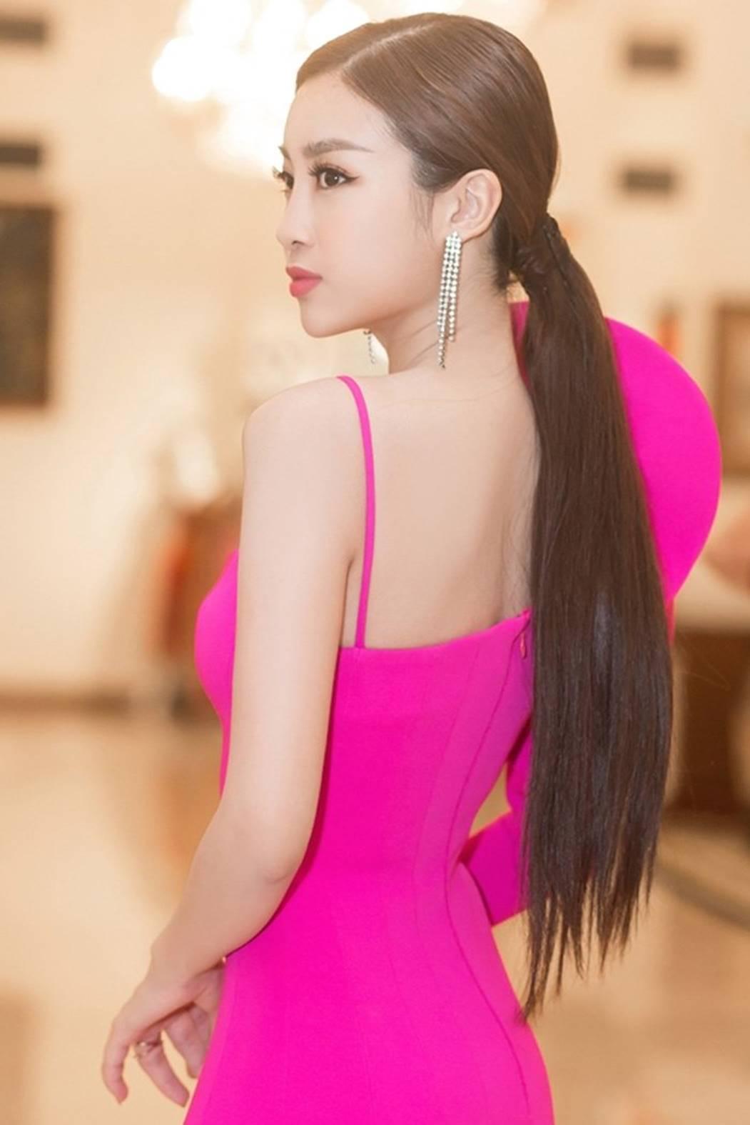 Hoa hậu Đỗ Mỹ Linh tái xuất gợi cảm sau khi trao lại vương miện-1