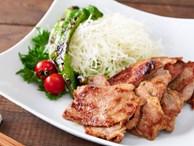 Người Nhật có cách làm món thịt chiên gừng chế biến siêu nhanh mà ăn cực ngon