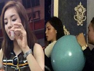 Sao Việt bất chấp sử dụng bóng cười: Người âm thầm trong bar, người công khai tập thể