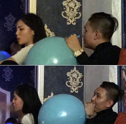 Sao Việt bất chấp sử dụng bóng cười: Người âm thầm trong bar, người công khai tập thể-1
