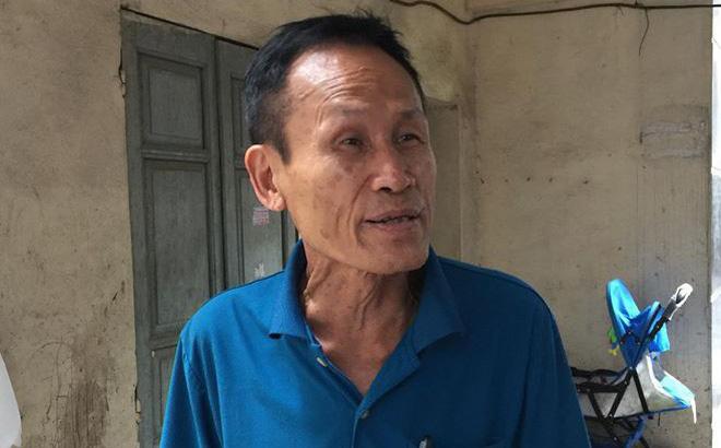 Ông Hiệp khùng nói từ hôm cháy nhà bị đuổi đánh 3 lần đến rách da tai, chảy máu-1