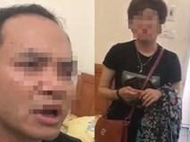 Bị bắt quả tang trong nhà nghỉ, trưởng đồn công an liên tục thề với chồng người phụ nữ