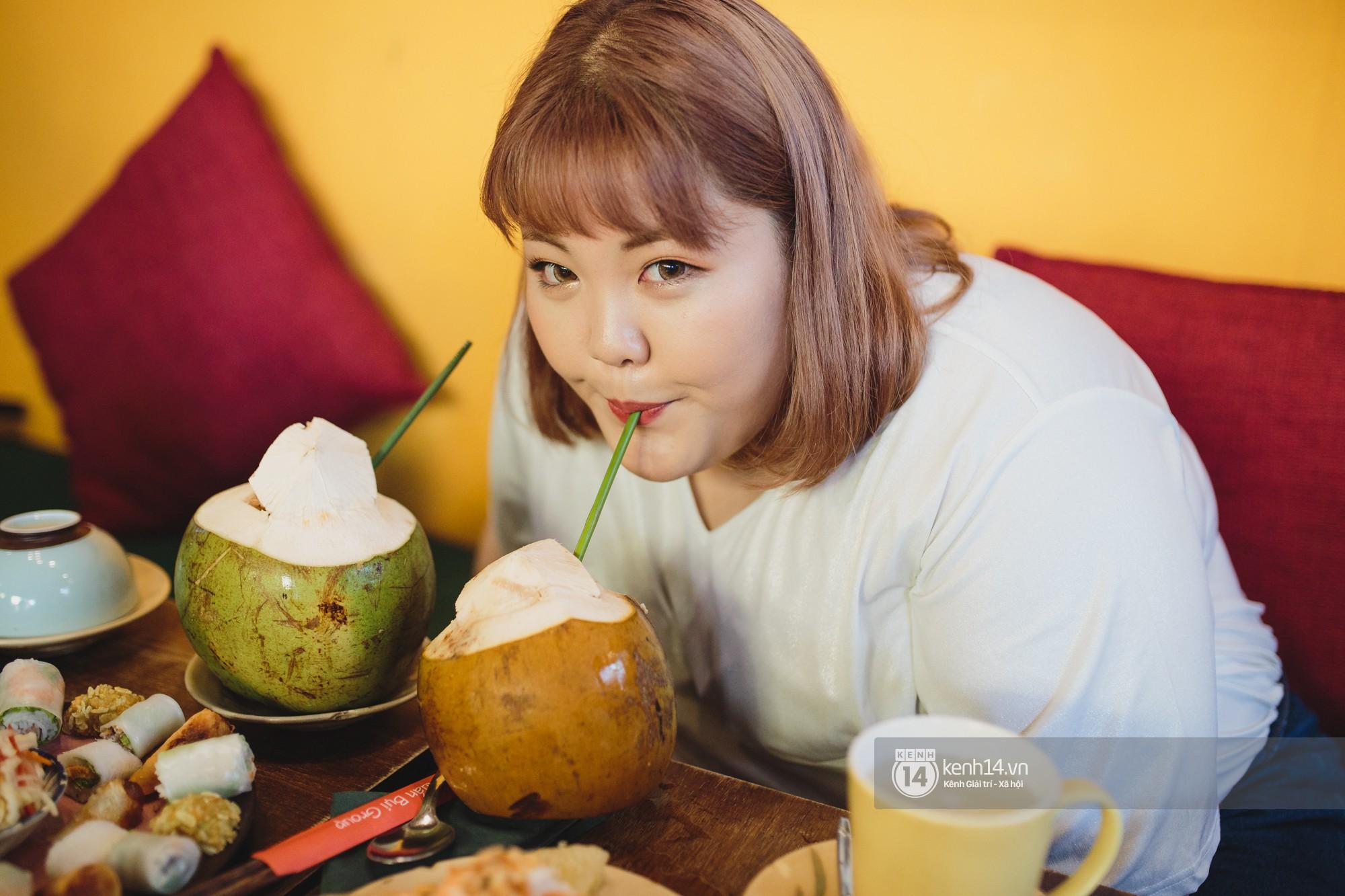 Nàng mập triệu view Hàn Quốc đến Việt Nam: Ăn cua hết 10 triệu, vẫn tiếc vì chưa kịp ăn bún chả-2