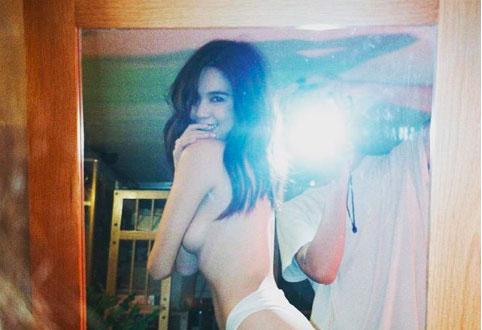 Ngọc Trinh tung ảnh bán nude, cư dân mạng lên tiếng chỉ trích phản cảm, rẻ tiền-1