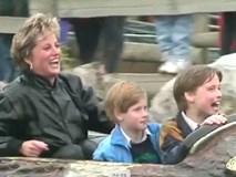 Sau 25 năm, clip Công nương Diana vui chơi thoải mái cùng hai con bất ngờ 'gây sốt'