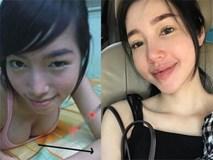 Elly Trần tự tin với gương mặt không