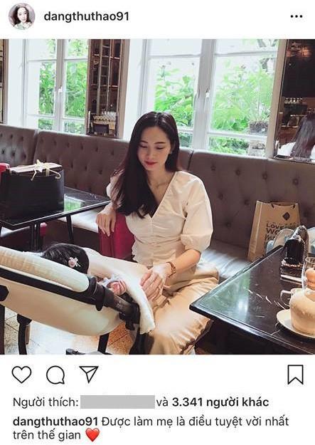 Hot: Lần đầu lộ ảnh cận mặt con gái cực đáng yêu của Hoa hậu Đặng Thu Thảo-4