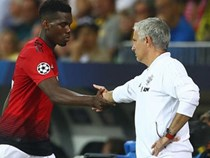 Paul Pogba rối rít cảm ơn HLV Mourinho