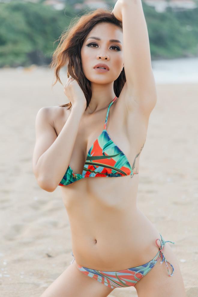 Ảnh bikini bốc lửa của siêu mẫu nổi danh một thời - Phương Mai-4