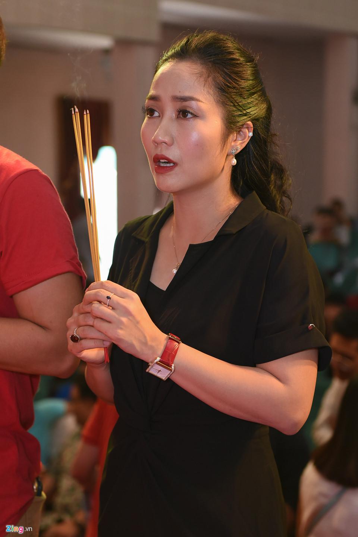 Mai Phương tươi tắn đi giỗ Tổ nghề ở sân khấu Hồng Vân-8