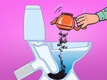 8 loại rác tuyệt đối không vứt vào bồn cầu nếu không muốn có ngày WC ngập ngụa