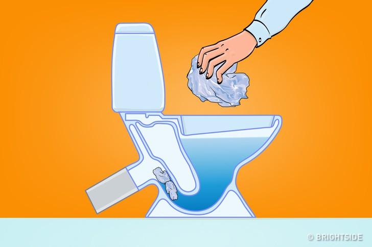 8 loại rác tuyệt đối không vứt vào bồn cầu nếu không muốn có ngày WC ngập ngụa-8