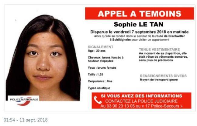 Nữ sinh gốc Việt mất tích tại Pháp, tìm thấy vết máu tại nhà gã đàn ông có tiền án hiếp dâm phụ nữ-1
