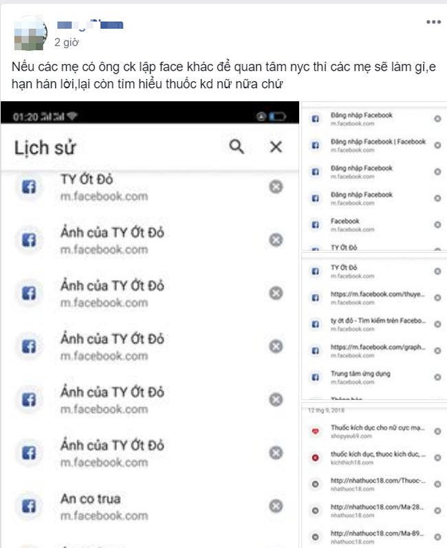 Chồng lập facebook khác để dễ bề liên lạc với người yêu cũ, vợ bó tay phải nhờ chị em hiến kế hay-1
