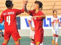 """ĐT Việt Nam lại """"đè bẹp"""" đối thủ ở sân chơi châu Á"""
