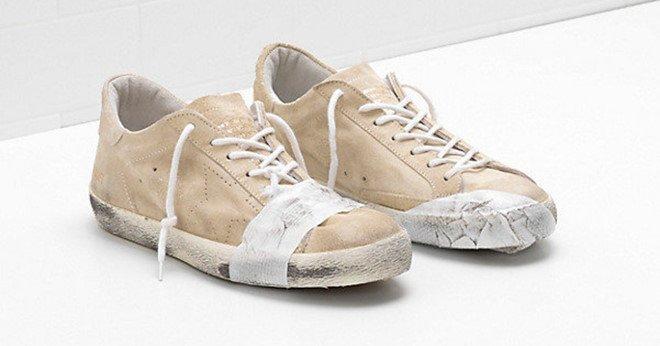 Đôi giày bẩn, rách rưới giá 12 triệu đồng gây tranh cãi-1
