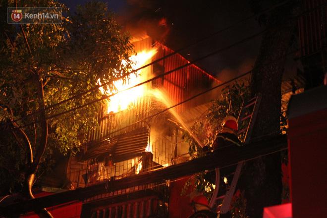 Phát hiện phần thi thể trong vụ cháy dãy trọ cạnh viện nhi Trung ương-1