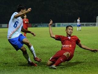 ĐT Việt Nam lâm vào thế khó sau thất bại trước Ấn Độ ở trận ra quân U16 châu Á