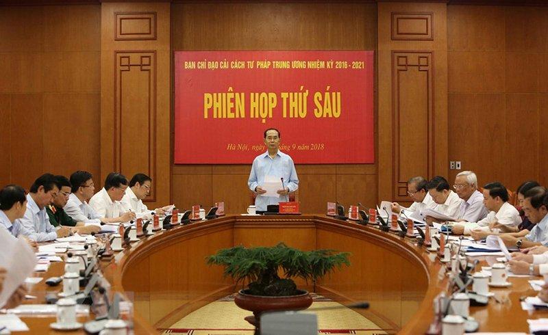 Những ngày làm việc cuối cùng của Chủ tịch nước Trần Đại Quang-1