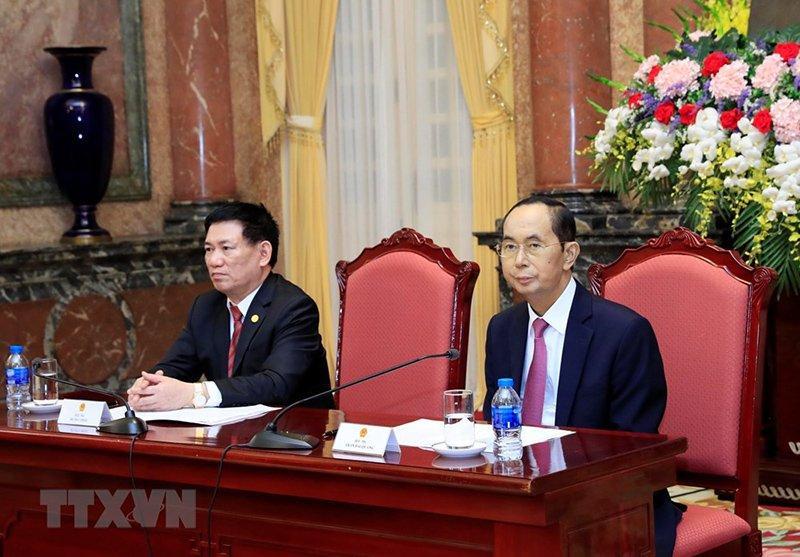 Những ngày làm việc cuối cùng của Chủ tịch nước Trần Đại Quang-8