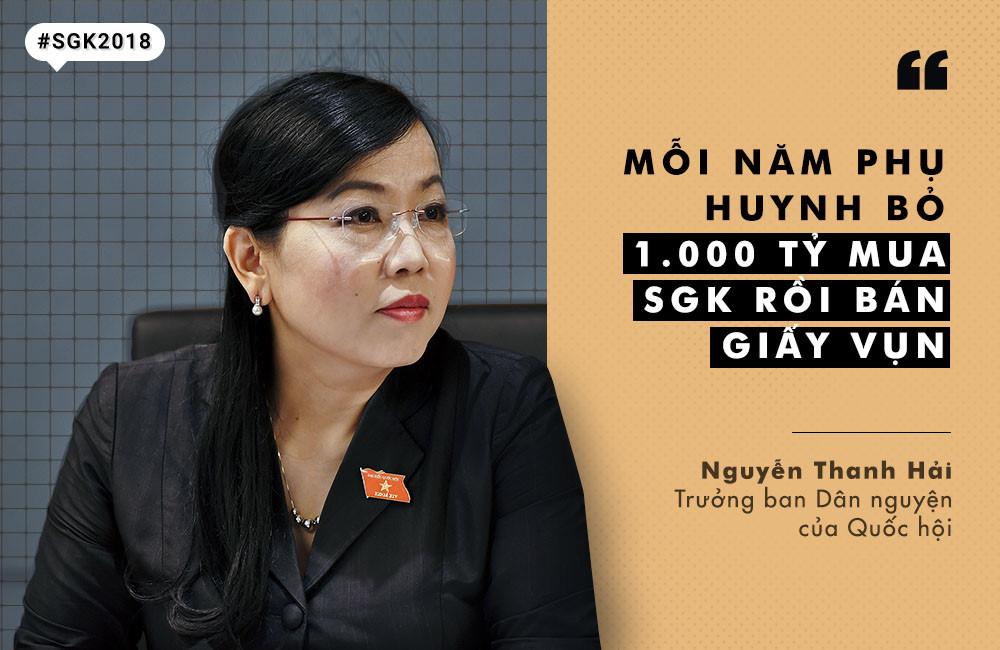 10 phát ngôn chú ý về SGK độc quyền, lãng phí nghìn tỷ đồng/năm-1