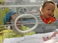 Đẻ non chỉ nặng 1,2kg, bé Trần Gấu-con trai thiếu úy Đậu Thị Huyền Trâm bây giờ ra sao?