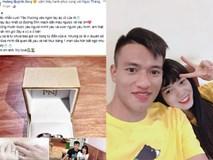Tiền vệ đội Đà Nẵng cầu hôn ấn tượng nữ tuyển thủ Quốc gia