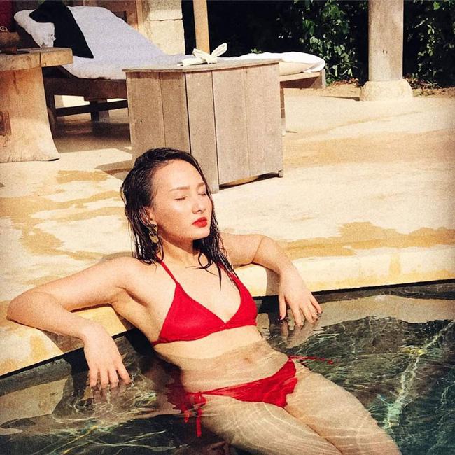 Bảo Thanh tung bộ hình bikini gợi cảm, chính thức bước vào cuộc đua đọ dáng của các mỹ nhân showbiz-2