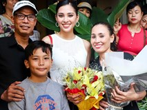Gia đình Hoa hậu Tiểu Vy từng khó khăn, nay kinh doanh mặt phố đắt đỏ