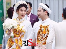 Hôm nay không phải đám hỏi mà chính là ngày cưới của Lan Khuê - Tuấn John