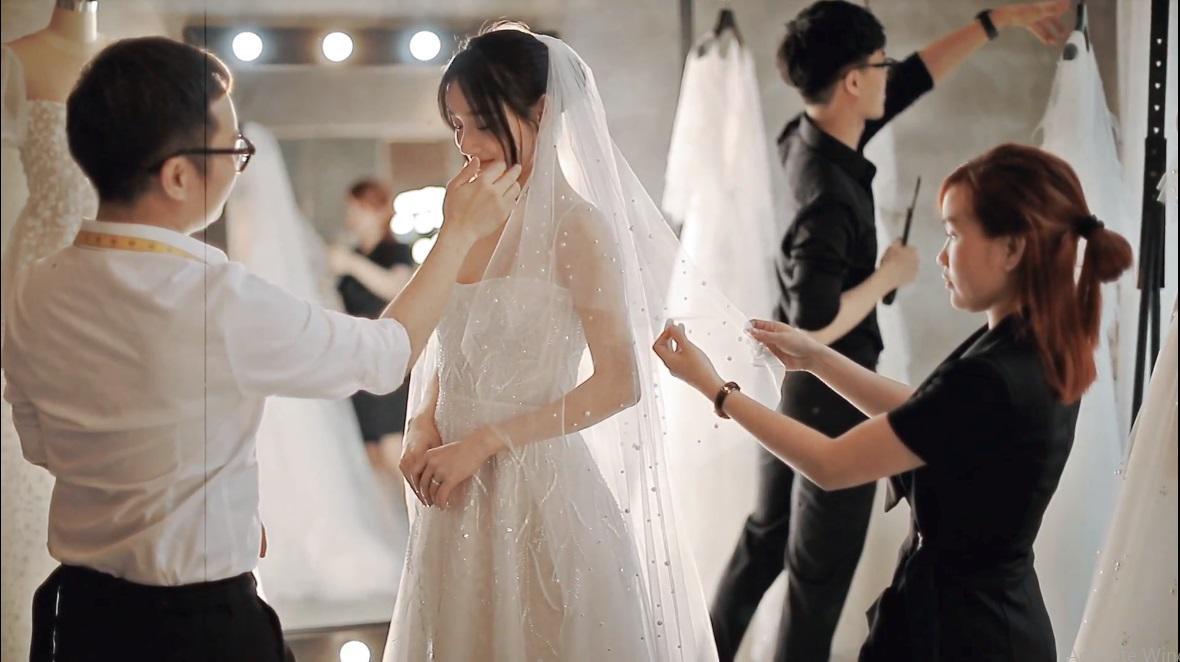 Hình ảnh Nhã Phương đẹp nao lòng trong mẫu váy cưới tiếp theo vừa được hé lộ-1