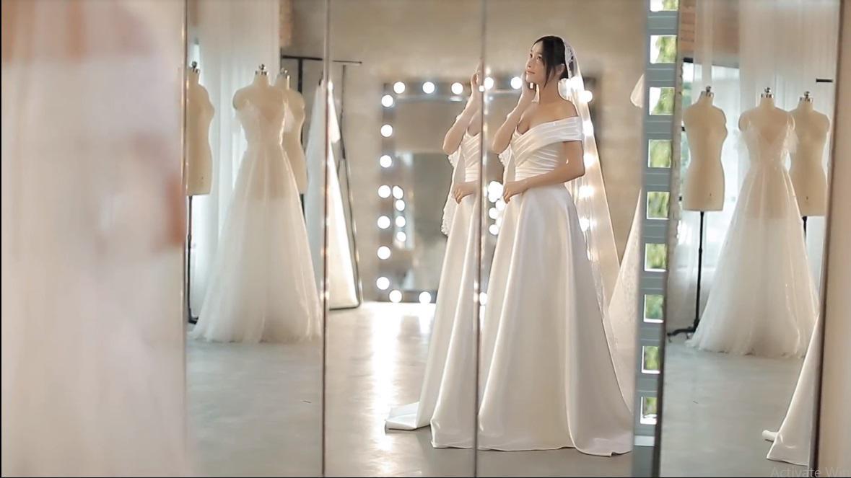 Hình ảnh Nhã Phương đẹp nao lòng trong mẫu váy cưới tiếp theo vừa được hé lộ-3