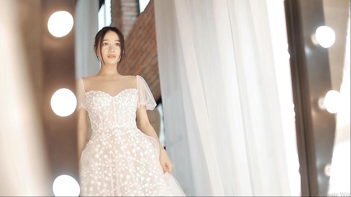 Hình ảnh Nhã Phương đẹp nao lòng trong mẫu váy cưới tiếp theo vừa được hé lộ-5