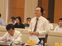 Bộ trưởng Phùng Xuân Nhạ: Duy trì kỳ thi THPT quốc gia nhưng không