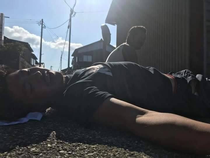 Chùm ảnh: Cư dân mạng Việt tại Nhật chia sẻ những giấc ngủ vội vàng giữa ca làm việc-5