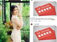MC Cao Vy mở lại Facebook, tặng 'thẻ tích đức' cho những người xỉa xói, châm chọc mình