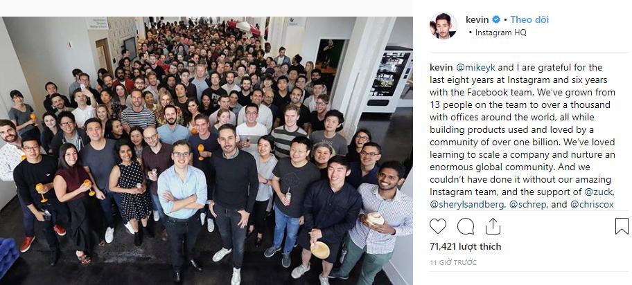 Hàng loạt báo uy tín cùng tố Mark Zuckerberg đã đẩy 2 giám đốc Instagram đến nước từ chức-1