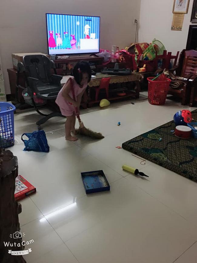 Tự đưa mình vào tình huống bận rộn - chiêu dạy con làm việc nhà đâu ra đấy của mẹ Đà Nẵng-4