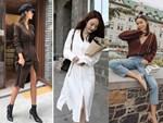 Thu mới chớm mà dàn sao và hot girl Việt đã khoe 1001 kiểu street style, kiểu nào cũng dát đầy hàng hiệu!-28